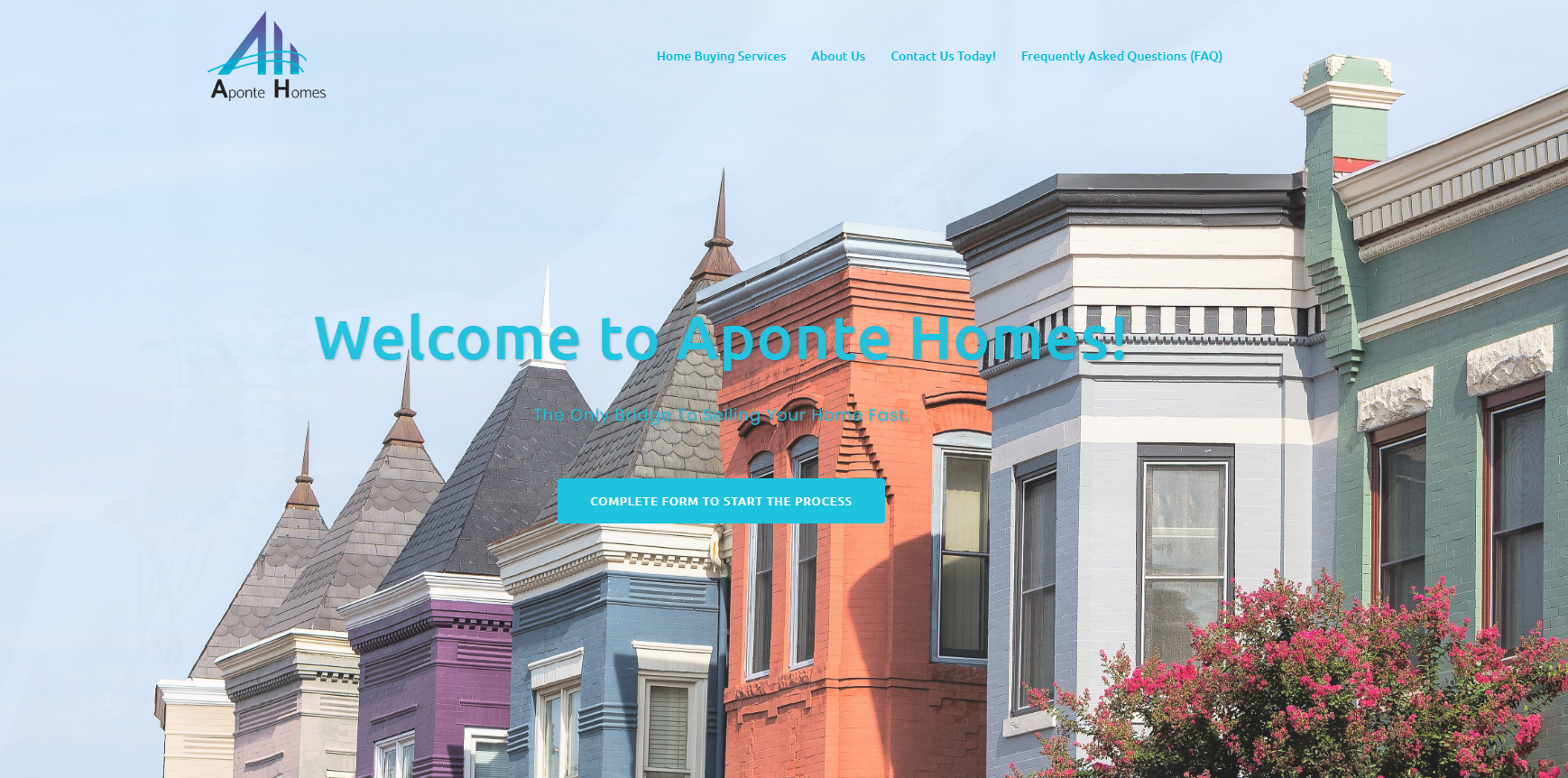 Aponte Homes Website