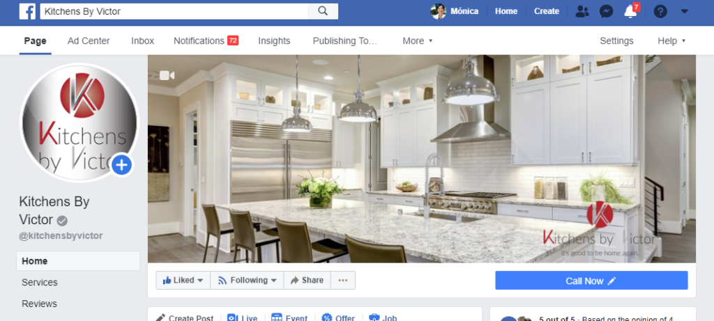 Kitchens by Victor Facebook Cover